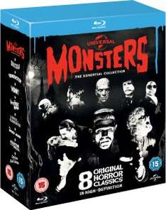 [Blu-ray] Universal Classic Monsters: The Essential Collection @Zavvi
