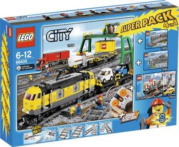 LEGO 66405 Güterzug Superpack (7939,7937) @ intertoys.de