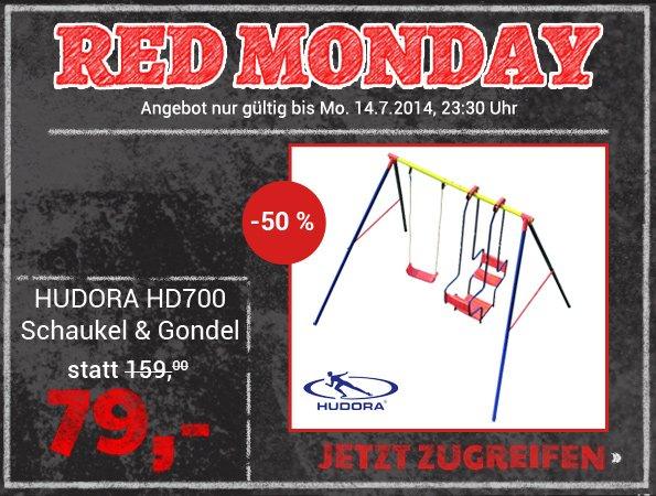 HUDORA HD700 Schaukel & Gondel für 79€ inkl. Versand @ D-Living