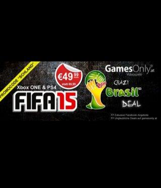 Fifa 15 (PS4/Xbox One) für 49,99€