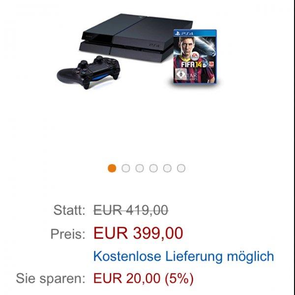 [amazon.de] Playstation 4 inkl. Fifa14
