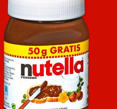 NUTELLA - ab 3 Gläser á 500g kostet das Einzelglas nur 1,69Euro. Kilopreis dann 3,38 Euro