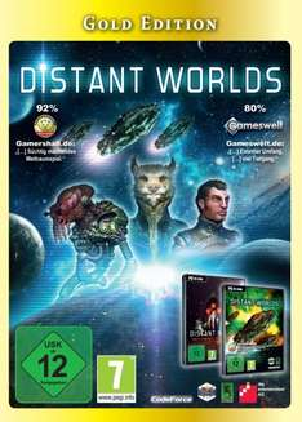 Distant Worlds - Gold Edition für PC - 9,99 Euro