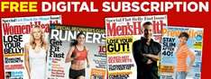 Runner's World/Men's Health/Women's Health/Prevention [Digital-Englisch] 1 Jahr Kostenlos