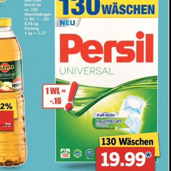 (Lidl)Persil Color oder Universal 130 Wäsche