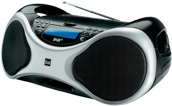 DAB+ Radio Dual DAB-P 100 CD-Radio 79,50 Euro statt 99,95 Euro