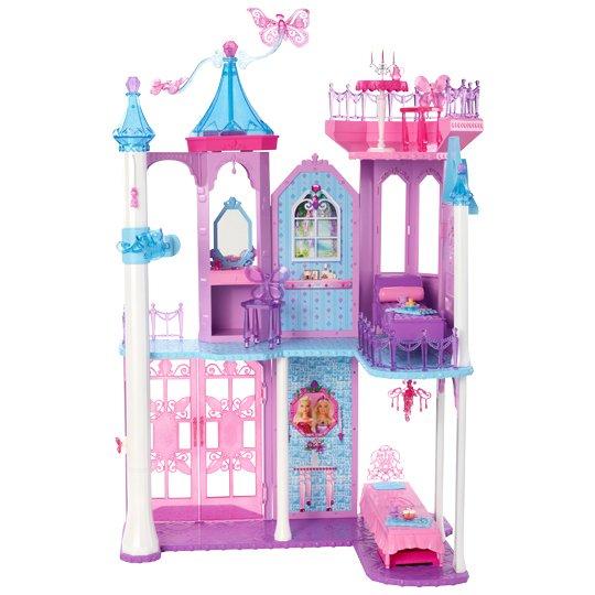 Mattel Barbie Y6383 - Mariposa Kristall-Palast für 39€ @ Real