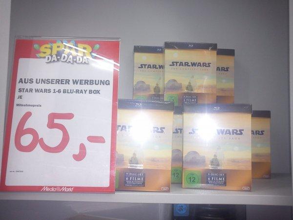 [Lokal] Media Markt Berlin Alexanderplatz Star Wars: The Complete Saga I-VI [Blu-ray]