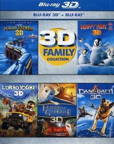3D Family collection (3D+2D) [Blu-ray] für 34,55€ @Amazon.es