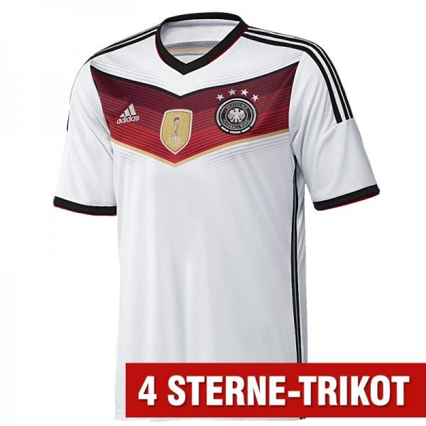 Deutschland Trikot 2014/2015 mit 4 Sternen. So sehen Sieger aus!