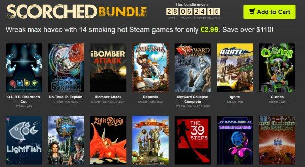 [Steam] Scorched Bundle / 14 Steamkeys für 3,59€ / 2,99€ @ Bundle Stars