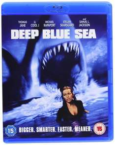 Blu-ray - Deep Blue Sea ab €4,82 [@Wowhd.de]