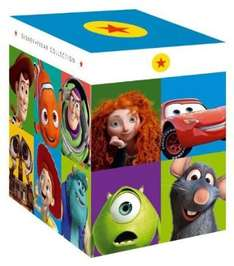 49,28 Euro - Pixar / Disney Collection - 16 Blu-Rays - 14 Filme (10 mit deutscher Tonspur) Cars, Oben, Monster AG,...