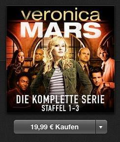 [iTunes] Veronica Mars - Complete 1-3 für 19,99€ - SD (+Freebie)