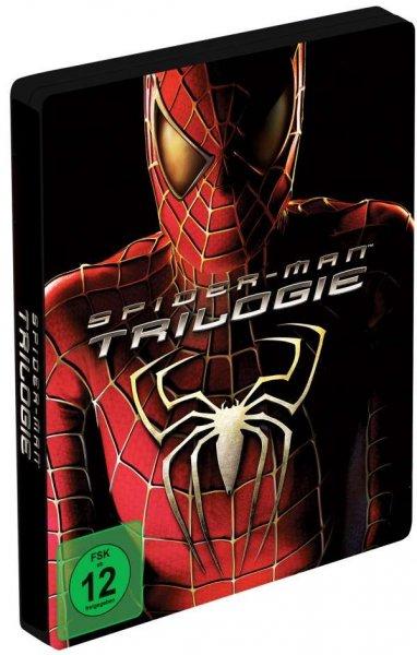 Spider-Man Trilogie Blu Ray Steelbook @CeDe 14,49€