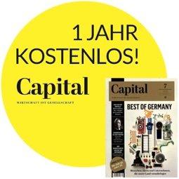 """1 Jahr """"Capital"""" kostenlos für Studenten!"""