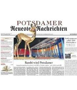 Potsdamer Neueste Nachrichten 4 Wochen kostenlos