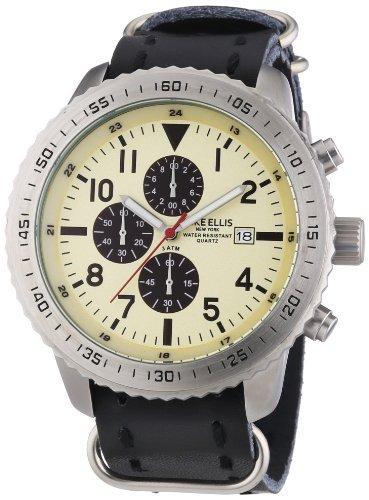 Mike Ellis New York Herren-Armbanduhr für 45€