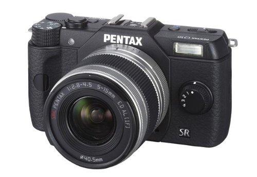 Pentax Q10 Kit 5-15 mm Silber für 185€ @Amazon.fr