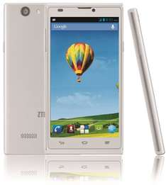 ZTE Blade L2 Smartphone (12,7 cm (5 Zoll), 5-Megapixel-Kamera, 1,3 GHz Quad-Core-Prozessor, Dual-SIM, Android 4.2) @Amazon