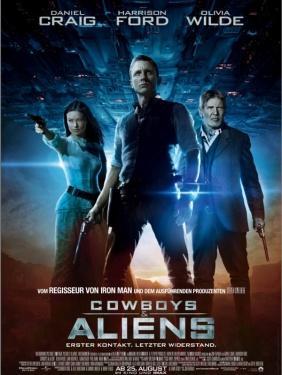 Alle Karten weg! Fast kostenlos ins Kino: Cowboys & Aliens (5 Städte)