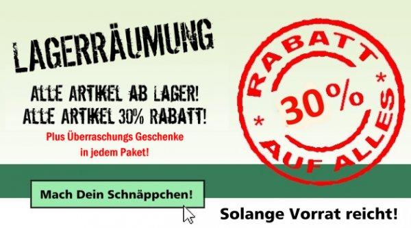 LAGERRÄUMUNG 30% Rabatt auf alles! Glasbongs,Acrylbongs,Wasserpfeifen, Growshop&Headshop