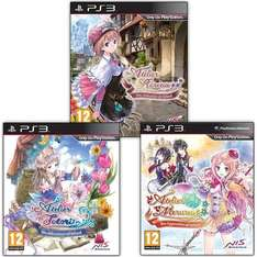 Atelier: The Alchemist of Arland Bundle (Rorona, Totori und Meruru) für PS3