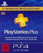 PlayStation Plus - 365 Tage DE Abo für 39,99 €