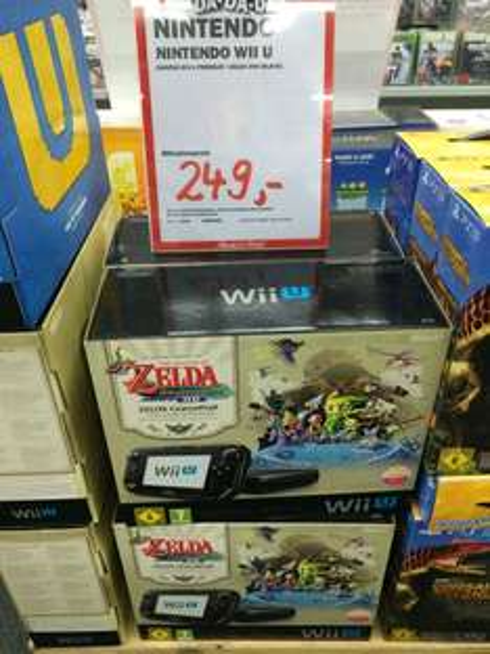 Nintendo Wii U Zelda Wind Waker Edition für 249€