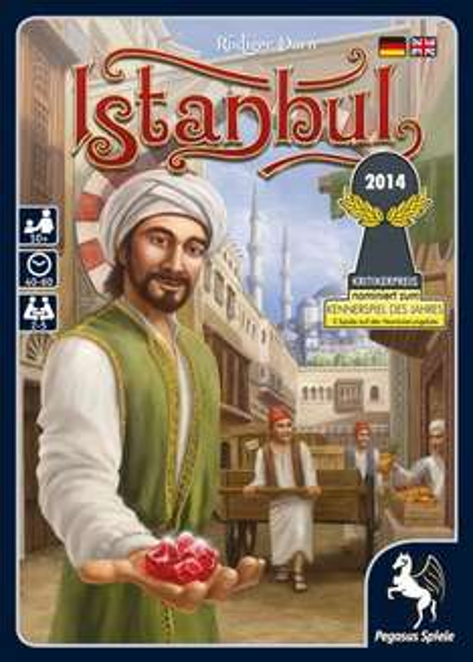 Pegasus Spiele - Istanbul - Kennerspiel des Jahres 2014 - 22,36€