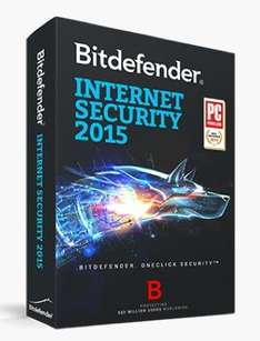 Bitdefender Internet Security 2015 (PC) 9 Monate Kostenlos