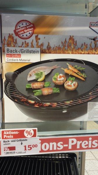 Küchenprofi Back- /Grillstein für 15€ / idealo 40,37€ Globus Neustadt /adW