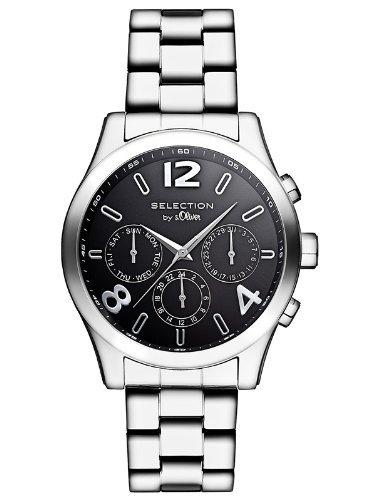 [Amazon] s.Oliver Damen Edelstahl-Multifunktionsuhr für 45,47€ incl.Versand