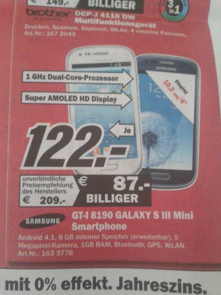 [lokal Rostock] Samsung Galaxy S3 mini Smartphone 122 €
