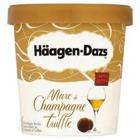 [Zimmermann] Häagen-Dazs - Marc De Champagne/Truffle je 457ml Becher nur 2,77€!