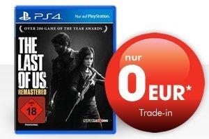 The Last of Us Remasterd (PS4) bei Gamestop für 0,00 bei Abgabe von 2 Spielen!