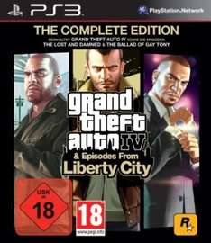 Grand Theft Auto IV - Complete Edition (PS3/360) für 12€ + ggf 4,99€ VSK
