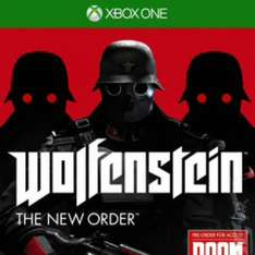Xbox one Wolfenstein The New Order & Plants vs Zombies