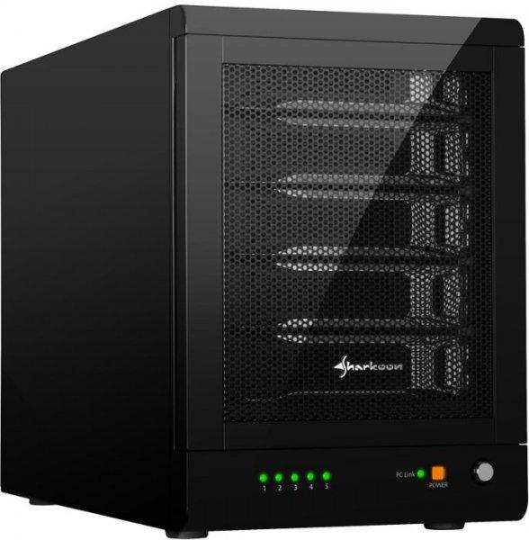 """Sharkoon 5-Bay RAID-Station, 3.5"""", USB 3.0/eSATA inkl. VSK @ZackZack"""