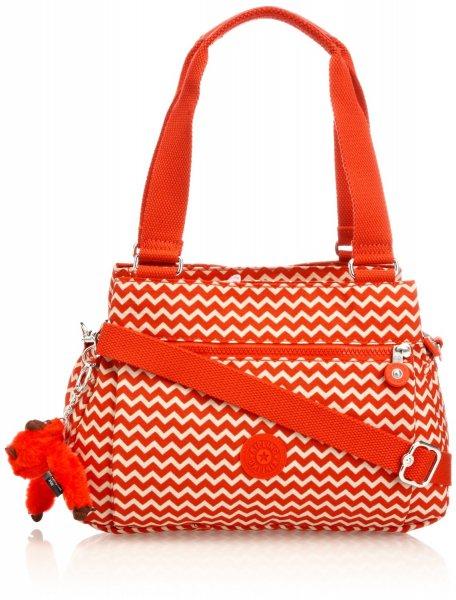 Kipling ORELIE K15257A90, Damen Rucksackhandtaschen, Rot (Chevron Red Pr) für 29,72€