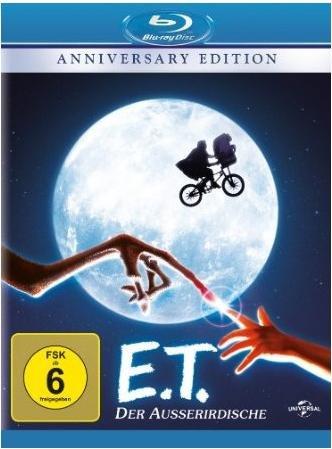 E.T. Der Ausserirdische (Anniversary Edition) - Bluray @Amazon.de (Prime)