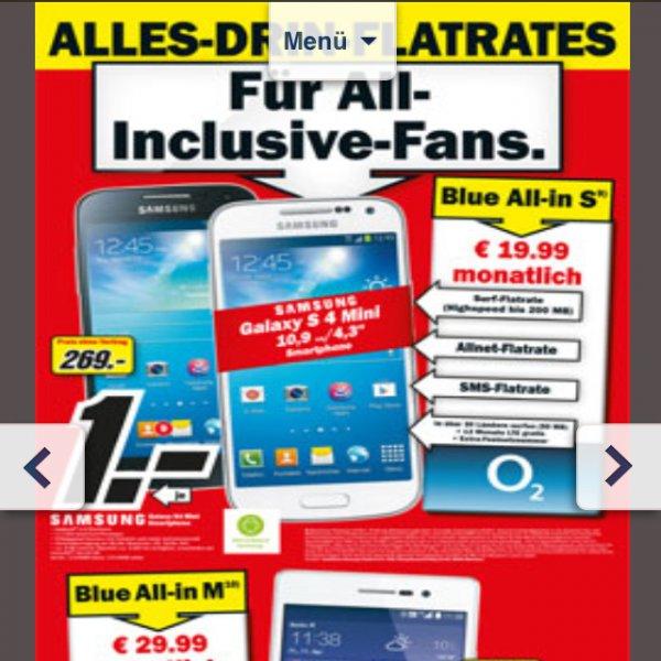 Allnet flat 19,99 O2 mit S4 Mini