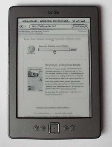 Kindle 4 heute bei Saturn