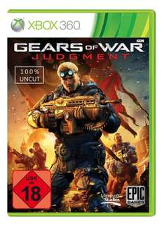 Gears of War Judgment Xbox360 , 5 Euro  (Amazon)