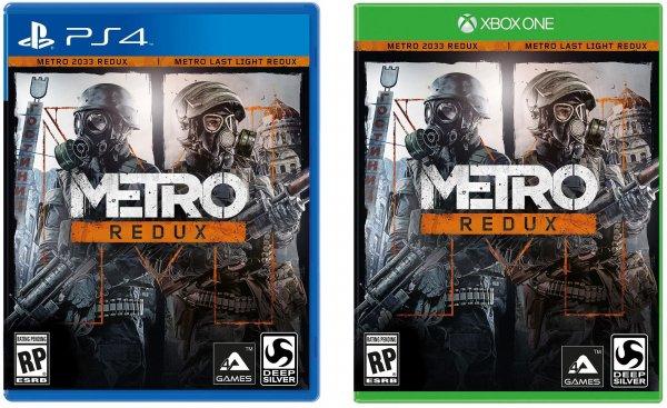 [wowhd.de] Metro Redux (Vorbestellung) für Xbox One, Playstation 4 oder PC für jeweils 27,99€ , Idealo.de ab 36,99€(PC) und 36,09€ (PS4 & XOne)
