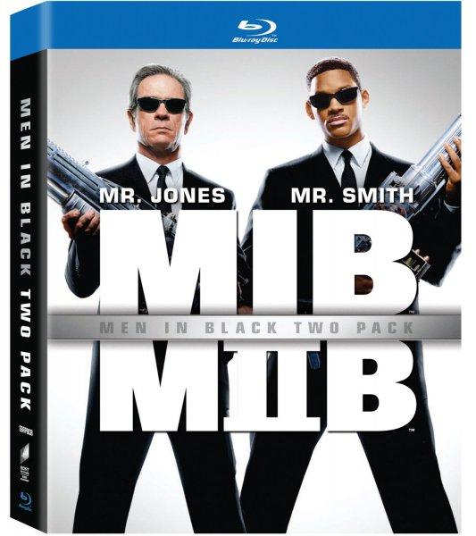 Men in Black 1&2 (Doppelpack) [Blu-ray] für 7,42 € inkl. Vsk.
