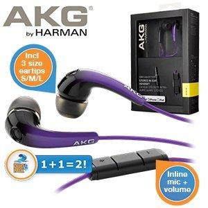 AKG K328 in Ear Kopfhörer im Doppelpack für 25,90 €, ca. 5 euro günstiger als idealo und es ist ein Doppelpack.