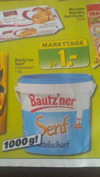 (offline) 1Kilo Bautz'ner Senf bei Netto mit Scotty