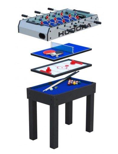 Hudora Multifunktionstisch 4 in 1 ... Kicker, Tischhockey, Billard, Tischtennis Vergl. 133,99