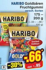 [Penny und Netto ohne Hund] Haribo Goldbären Fan-Edition (200g) für 66 Cent